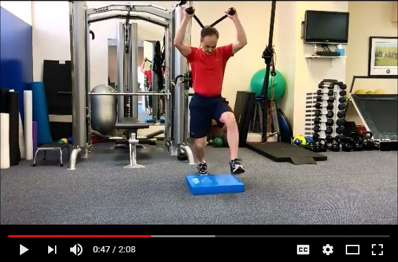 Exercise for Reverse Spine Angle in golf swing