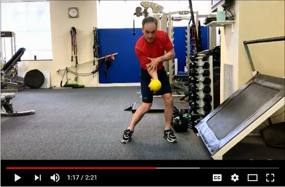 Increase club head speed with this medicine ball drill