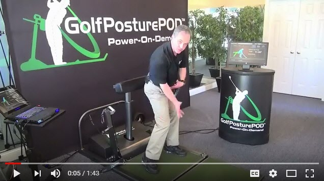 GolfPOD Single Leg Balance Drill