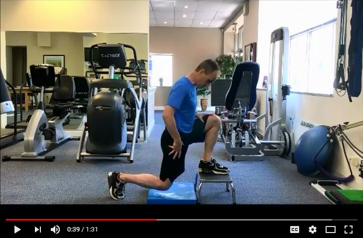 Hip Stretch for a Better Golf Swing
